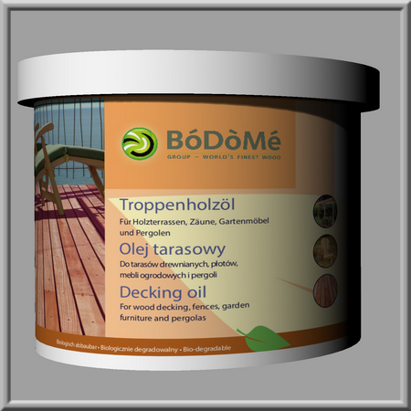Tropenholzöl von Bodome